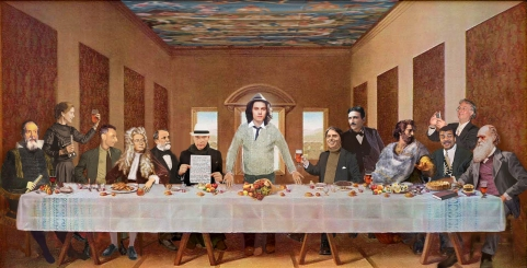 Wald Whittman, Last supper